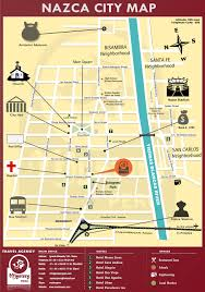 Lima Map Paracas And The Nazca Lines 2 Days Program Departing From Lima