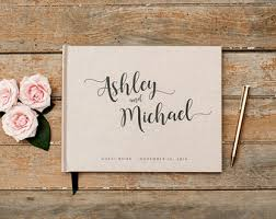 personalized wedding planner wedding guest books etsy