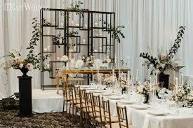 wedding backdrop modern modern black and white wedding elegantwedding ca