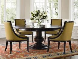Black Round Dining Table With Chairs Insurserviceonlinecom - Black round dining room table