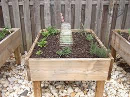 Garden Box Wood Type Raised Garden Bed On Legs 3 Steps