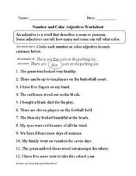 this that these those adjectives worksheets englishlinx com