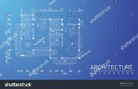 blueprint floor plan floor plan blueprint stock vector 68932489 shutterstock