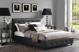 Best Bed Frames Reviews by Modern Platform Bed Also Best Beds Marquee Leather Contemporary
