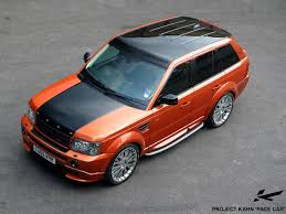 burnt orange range rover project khan design cars cool or chav page 6 general