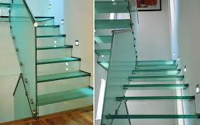 Glass Banisters For Stairs Glass Staircases Gallery Galleries Railing London