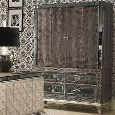 Aico Amini Hollywood Swank Furniture Armoires U0026 Wardrobes Bedroom Furniture
