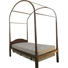 delightful country cherry four poster twin bed with canopy early delightful country cherry four poster twin bed with canopy early 19th century