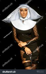 Nun Halloween Makeup by Nun Halloween Stock Photo 154061456 Shutterstock