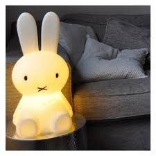 lampe miffy 80 cm veilleuse miffy petit modèle mr maria design bébé enfant