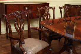 furniture charming reproduction mahogany dining chairs photo