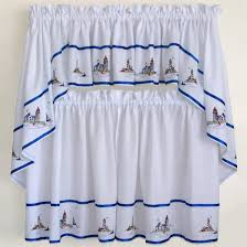 nautical curtain ideas modern window inspirations and kitchen