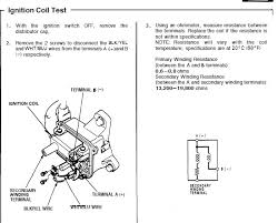testing ignition coils ohms good bad honda tech honda