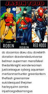 Batman Green Lantern Meme - asor todd tanw uoy 00 lives ig dc nation robin robin red hood red