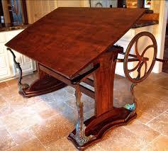 Drafting Table Custom Handmade Steunk Style Drafting Table