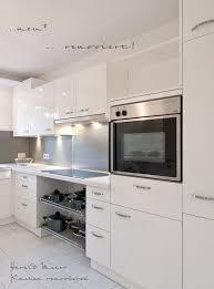 weiße küche mit holz wir renovieren ihre küche kueche hochglanz weiss