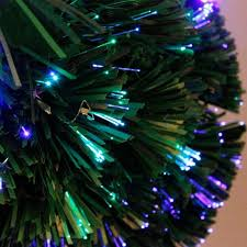 Christmas Tree With Optical Fiber Lights - online shop 45cm optical fiber color light emulate christmas tree
