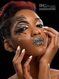 eyeliner tattoo violent eyes 2018 new fashion temporary transfer tattoo eyeliner sticker cat wing