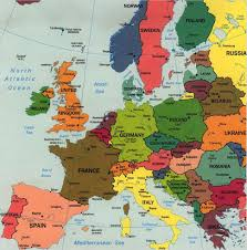 Europe Map Cities by No Go Areas Of European Cities Guyanese Online