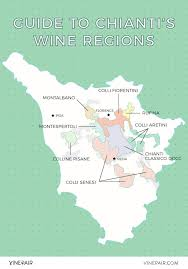 Italy Wine Regions Map by The Definitive Guide To The Regions Of Chianti With Map Vinepair