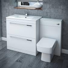 gloss white bathroom cabinet home decorating interior design