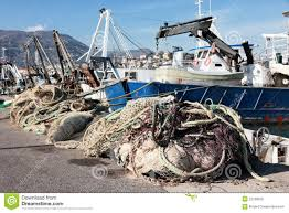 fishnet and fishing boat royalty free stock images image 22186939