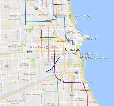 Map Of Hyde Park Chicago by The Mellow Chicago Bike Map Routes Recommended By Members Of The