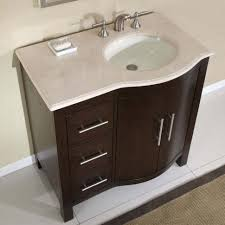 bathroom nursery decor brown vanity storage unit white floor