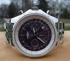 bentley purple breitling bentley special edition a25362 purple dial topnotch watch