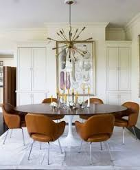 Dining Room Chairs Modern Inspiration Smaller Round Not Oval Mid Century Modern Round