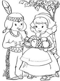 thanksgiving coloring pages native american indian coloring pages