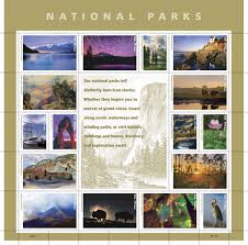 What Side Do Stamps Go On by Usps Previews 16 Spectacular National Parks Stamps