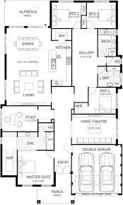 Architecture Floor Plans 23 Unique Corner Block Duplex Designs Of Amazing Townhome Plan