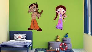 Asainpaints by Asian Paints Kids World Chhota Bheem Wall Themes Youtube