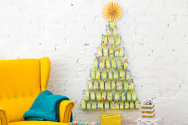 create a small space tree with this one holiday supply huffpost