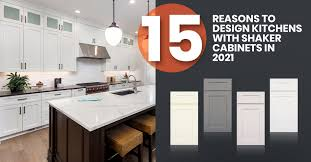 how to turn cabinets into shaker style 15 reasons to design kitchens with shaker cabinets in 2021