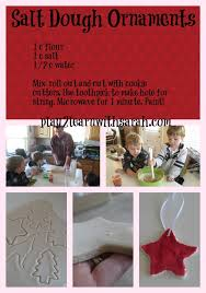 how to make salt dough ornaments and thyme
