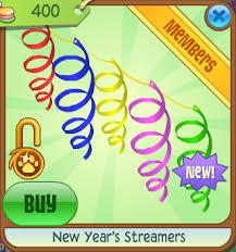 new years streamers new year s streamers animal jam wiki fandom powered by wikia