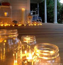 battery operated porch lights our victorian front porch decorated for halloween diy chandelier