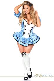 Halloween Costumes Size Drawer Size Premium Alice Corset Dress Costume