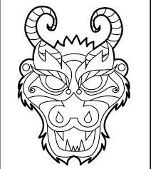 chinese dragon coloring pages easy simple chinese dragon drawing at getdrawings com free for personal