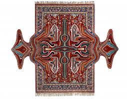 Rug Art New Glitched Out Rugs Designed From Traditional Textiles By Faig