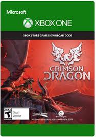 amazon com crimson dragon xbox one digital code video games