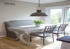 kitchen upholstered bench seating home design photo gallery