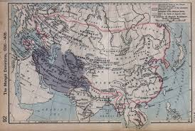 Chinese Map Of America by