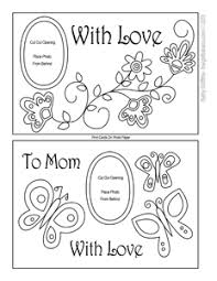 Latest Mother S Day Cards Mother U0027s Day Printable Coloring Card Printable Mother U0027s Day