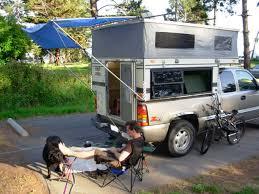 Bag Awning For Pop Up Camper Back Door Awning Truck Campers Wander The West
