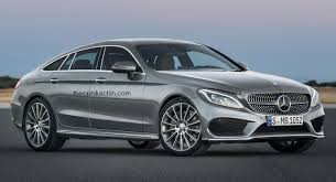 mercedes c class coupe tuning will mercedes c class four door coupe look like this