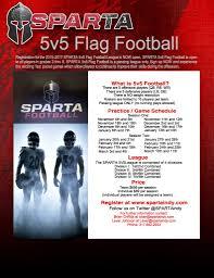 Flag Football Running Plays Leagues Sparta