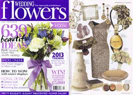 wedding flowers magazine press awards abigail bloom